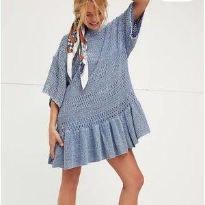 NWT Free People Sistine Mini Dress